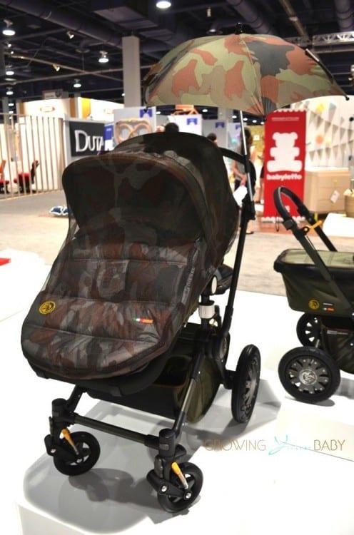 Bugaboo Cameleon 3 Diesel Special Edition Stroller - camo net