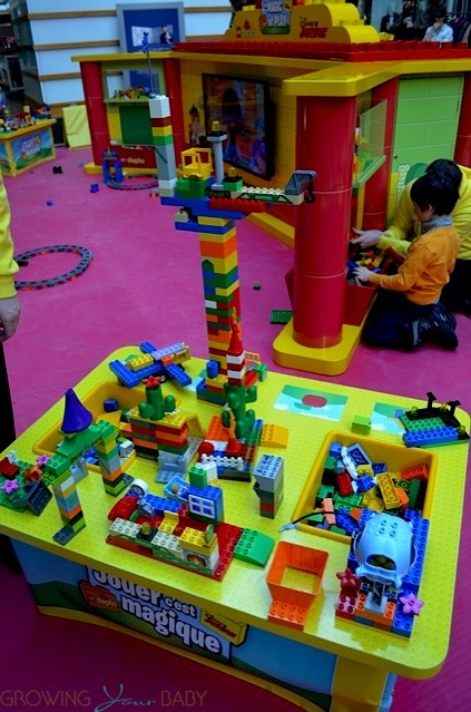 Building high at the Disney Junior and DUPLO Magic of Play Tour