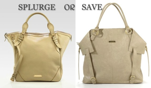 Burberry Carolina Diaper Bag vs Timi & Leslie Charlie Diaper Bag
