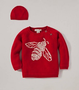Burts Bees Baby Cozy Bee Sweater Set