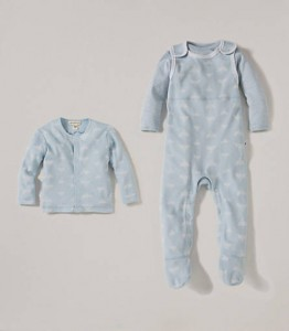 Burts Bees Baby Cozy bee Set