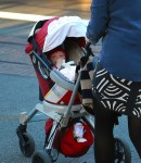 Busy Philipps with her daughter Cricket Silverstein shopping at the grove