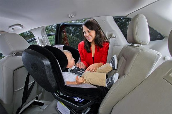 Car Seat Safety Child rear facing