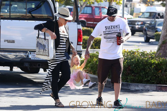Pink And Carey Have Fun With Daughter Willow