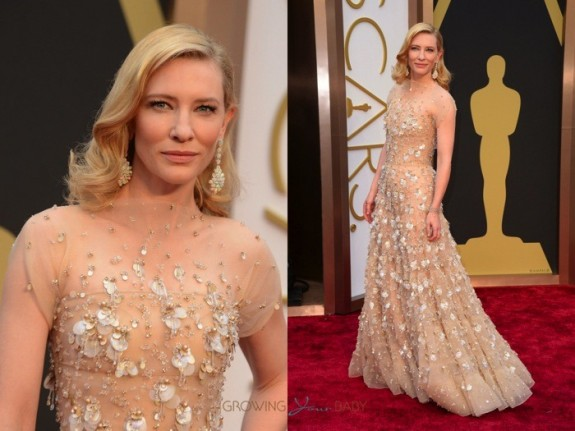 Cate Blanchett at the 86th Annual Academy Awards