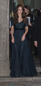 Catherine, Duchess of Cambridge arrives at The Portrait Gala 2014