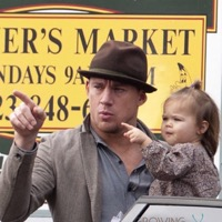 Channing and Jenna Tatum Hit the Market With Their Little Lady!