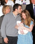 Chelsea Clinton & her husband Marc Mezvinsky with daughter Charlotte