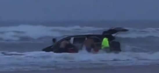 Children in Protective Custody after Harrowing Ocean Rescue
