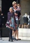 Chris Hemsworth & Elsa Pataky with daughter India