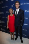 Chris Hemsworth and pregnant Elsa Pataky at 3rd Annual Help Haiti Home Gala