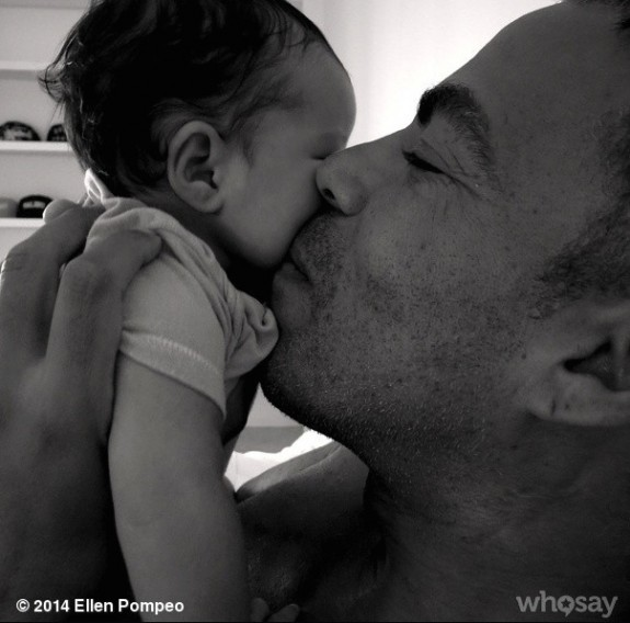 Chris Ivery with daughter Sienna May