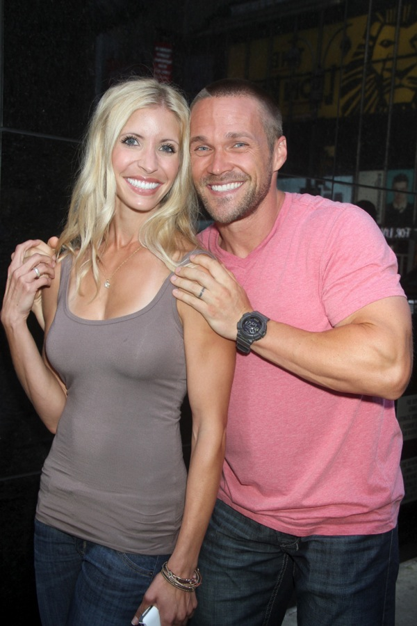 Chris Powell and Wife Heidi