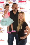 "Chuck Lidell and Heidi Northcott with daughter Trista at Disney Junior's ""Pirate and Princess Power of Doing Good"" tour"