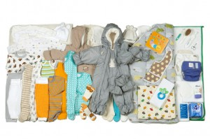 Contents of finland's maternity pack