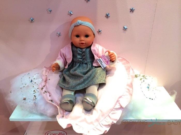 corolle mon bebe classique valentine baby doll
