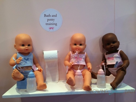Corolle Mon Classique Graceful Emma(far right) Drink & Wet Bath Baby Doll