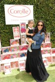 Courtney and Gia Lopez at Corolle Event LA