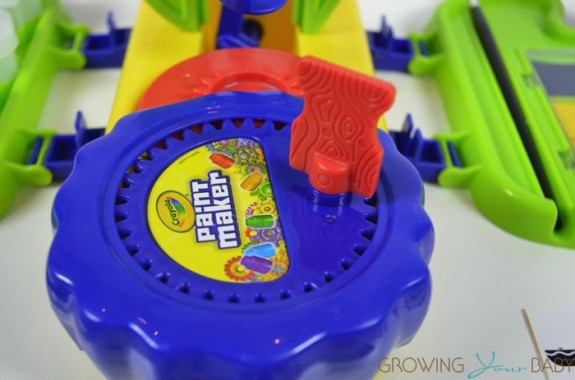 Crayola Paint Maker Set - mixing station