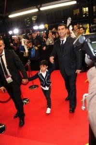 Cristiano Junior at the Ballon D'or awards