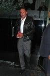 David Arquette Leaves Mr. Chows in LA