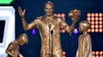 David Beckham gets gooed at the Kids' Choice Sports Awards