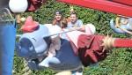 Beckham Family At Disneyland