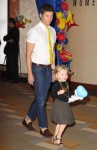 David Burtka with daughter Harper at Disney Junior Live On Tour!