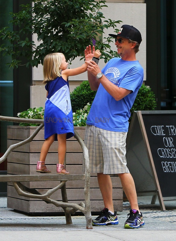 David Spade Steps Out With Daughter Harper Growing Your Baby