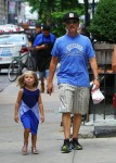 David Spade steps out with daughter Harper