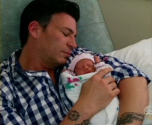 David Tutera with newborn daughter Cielo