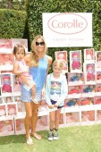 Denise Richards with daughters Lola & Eloise at Corolle Event at the Grove LA