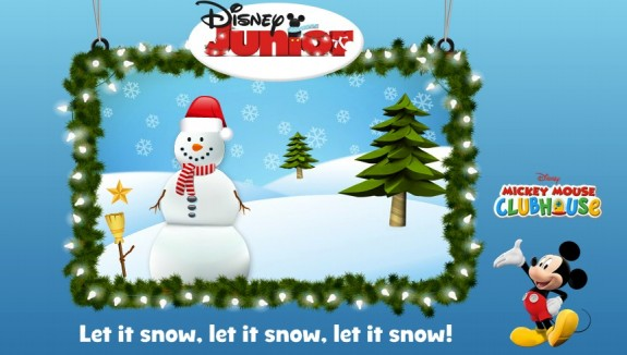 Disney Junior Create a Card