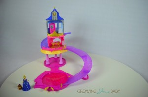 Disney Princess Glitter Glider Castle Playset