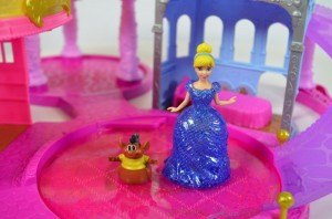 Disney Princess Glitter Glider Castle Playset - Cinderella and Gus