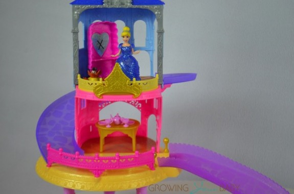 Disney Princess Glitter Glider Castle Playset - Cinderella in the tower