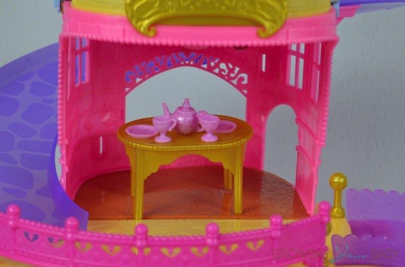 Disney Princess Glitter Glider Castle Playset - dining room ...