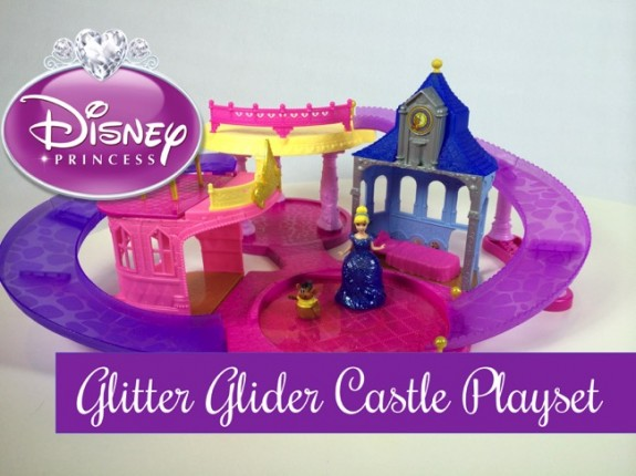 Disney Princess Glitter Glider Castle Playset t