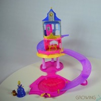 Hot For The Holidays! Disney Princess Glitter Glider Castle Playset