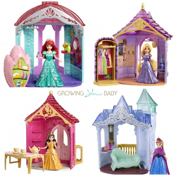 Disney Princess Magiclip sets for glitter glider playsets