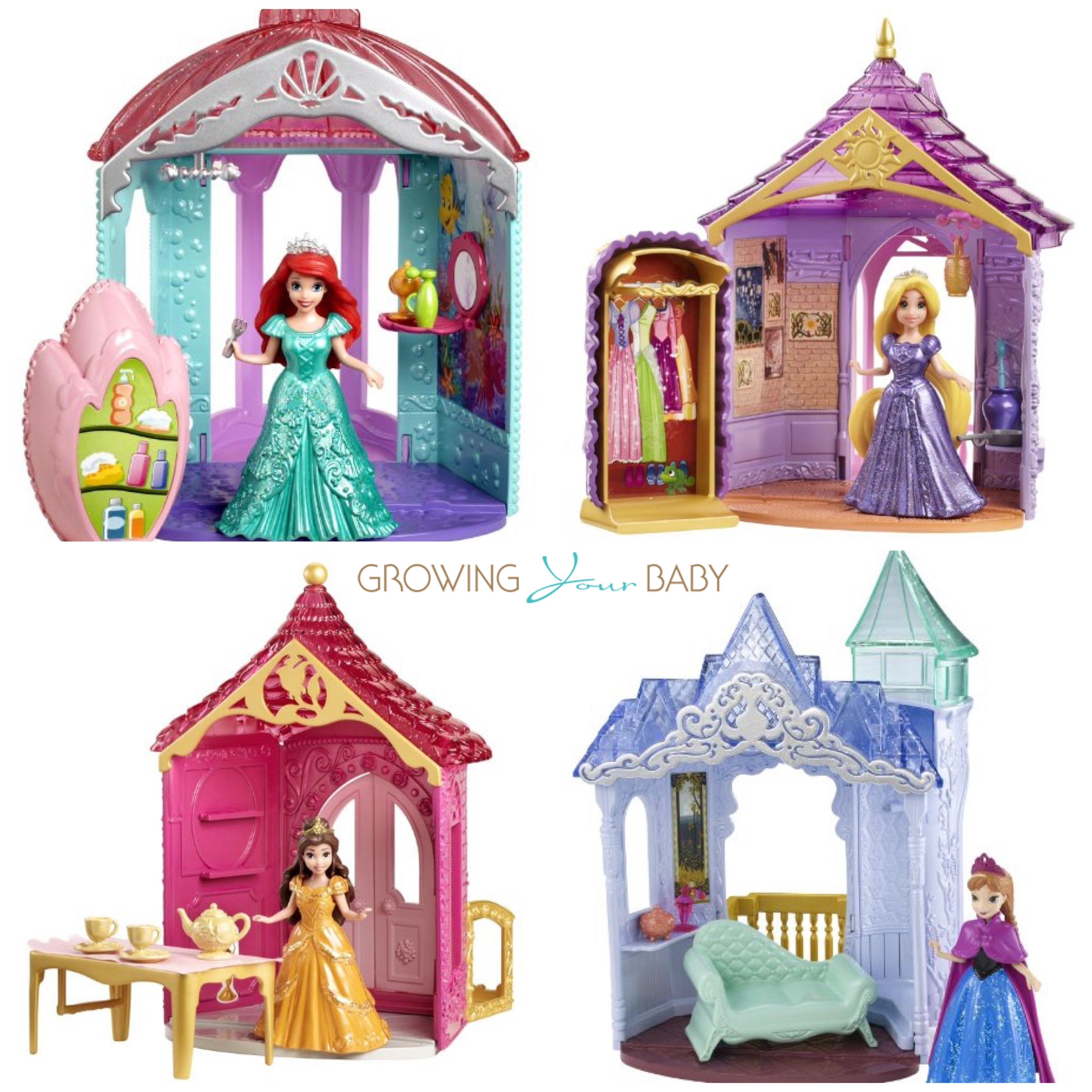 Disney Princess Magiclip sets for glitter glider playsets ...