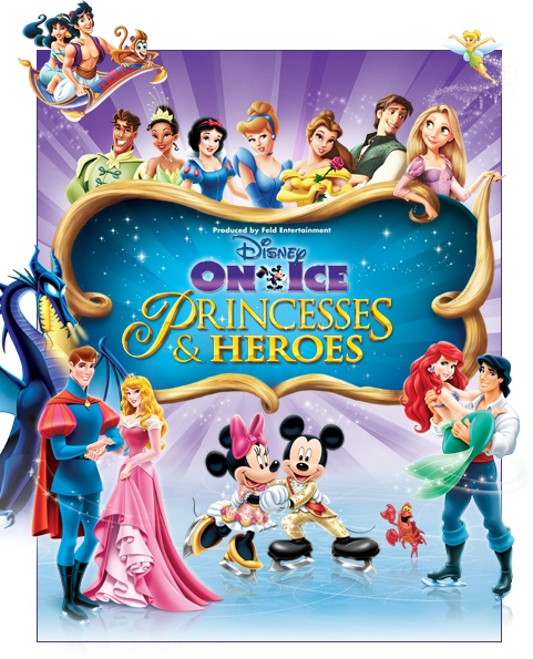 Disney Princess:Heros on Ice