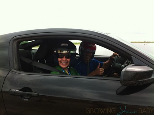 Doing Hot Laps with Johnny Unser