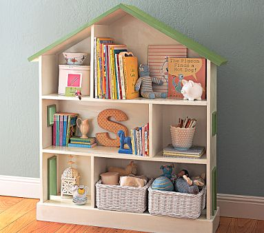 Dollhouse+Bookcase