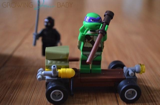 Donatello - Shredders Dragon Bike Teenage Mutant Ninja Turtle Lego Set