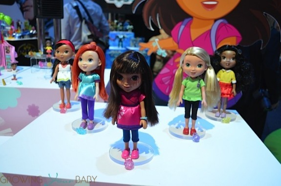 "Dora&Friends character 8"" dolls"