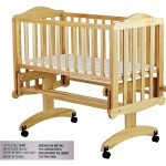 Dream on me Lullaby Cradle Glider model 640N-Natural