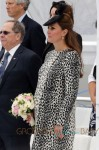 Duchess of Cambridge, Catherine Middleton Attends Christening of New Royal Princess