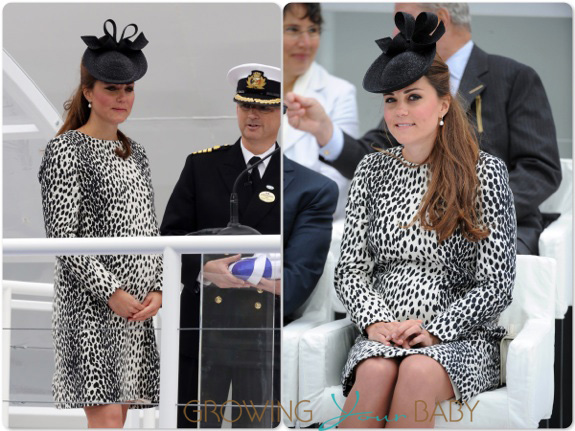 Duchess of Cambridge Kate Middleton Christens the Royal Princess