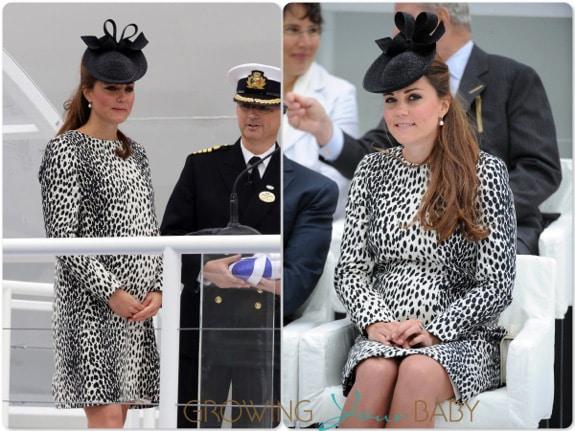 Duchess of Cambridge Kate Middleton Christens the Royal Princess